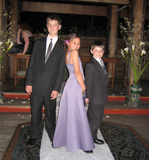 Nicholas, Ashley and Ryan